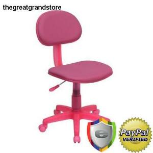 Flash Furniture Pink Fabric Ergonomic Task Chair Student Depth Upholstery Seat