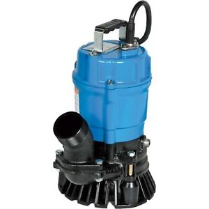 Tsurumi Hs3 75s 62 Semi vortex Submersible Trash Pump With Agitator 1 Hp
