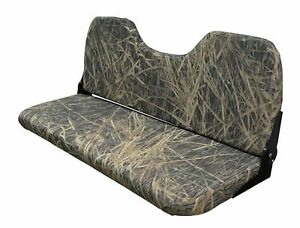 Wise Camo Bench Seat Mossy Oak Shadow Grass Vinyl 42 Inch