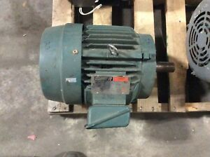 Reliance Electric Motor p21g4902bc 7 1 2hp 1760rpm Frame 213t 230 460v