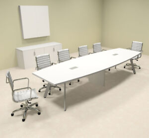 Modern Boat Shaped 12 Feet Conference Table of con cv15