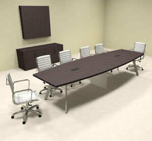 Modern Boat Shaped 12 Feet Conference Table of con cv19