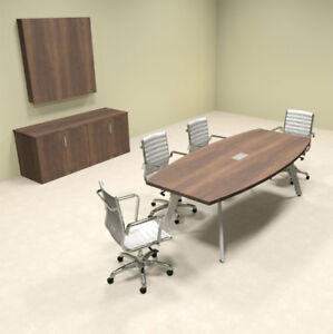 Modern Boat Shaped 8 Feet Conference Table of con cv3