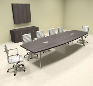 Modern Boat Shaped 12 Feet Conference Table of con cv21