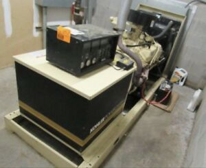 Kohler 55 Kw Standby Natural Gas Generator W 750 Hours With Transfer Switch