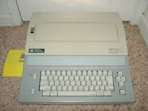 Smith Corona Pwp 3850 5f Typewriter Office Word Processor Floppy No Monitor