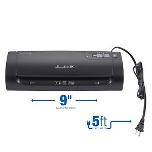 Swingline Gbc Thermal Laminator Fusion 1100l 9 Inch 4 Minute Warm up 3 Or 5 M