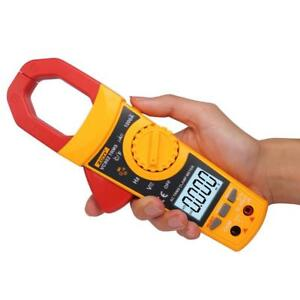 Vc902 Digital Clamp Meter Multimeter Ac Dc Current Volt Ohmmeter Tester