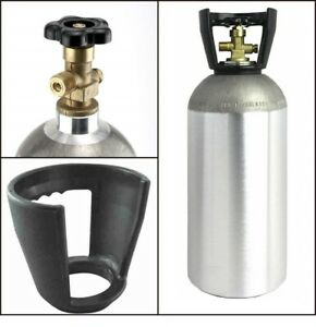 Co2 10 Lb Aluminum Cylinder Tank Beverages Welding Cga320 Valve Carry Handle
