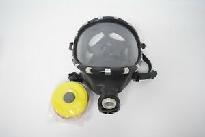 Scott Full Face Respirator Mask With Filter Cartridge