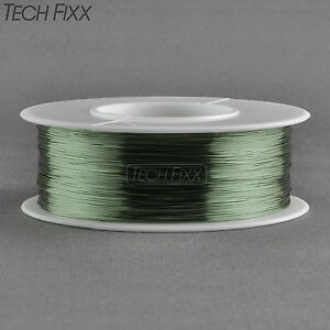 Magnet Wire 32 Gauge Awg Enameled Copper 1230 Feet Coil Winding 155c Green