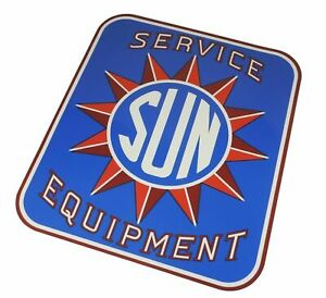 Sun Electric Service Equipment Tune Up Machine Cabinet Logo Decal Testing 1960 s