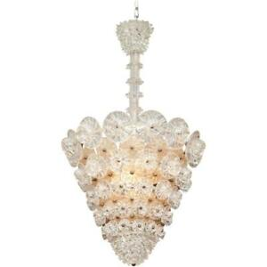 Barovier Toso Chandelier Made In Italy 1940