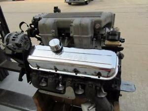 V8 454 Motor Engine Gm Chevrolet Fuel Injected Tall Efi Block 10114182