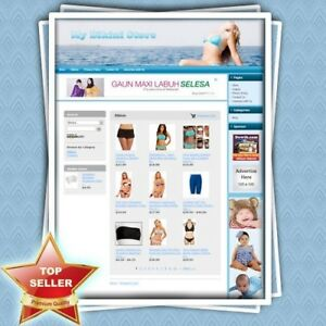 Bikini Store Professionally Designed Fully Functional Great Affiliate Website