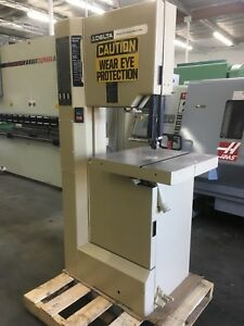 Delta Model 20 Vertical Band Saw Varialbe Speed 20 Throat