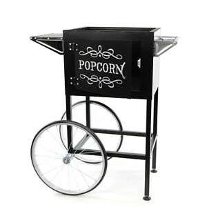 Paramount Popcorn Machine Cart Trolley Section black