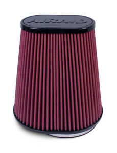 Airaid 721 127 Synthamax High flow Performance Oval Air Filter 9 5 Tall 6 Inlet