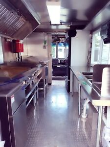 Custom Made Food Truck For Sale