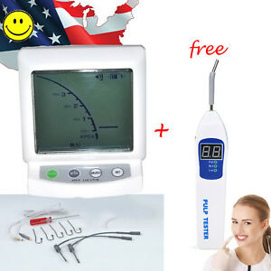 Usa Dental Apex Locator Finder Root Canal Endodontic Pulp Tester Teeth Clean