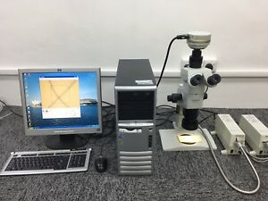 Olympus Szx12 Microscope full Set