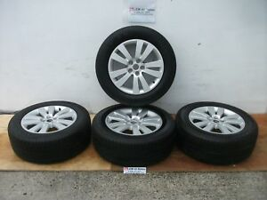 08 14 Subaru Tribeca Forester Oem 18 Wheels Rims With Good Year Tires 18 8jj