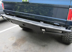 Off Road Rear Bumper W Hitch Fits Chevy Gmc K5 Blazer Truck 1973 1991