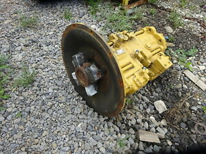 Caterpillar 311 Excavator Main Hydraulic Pump 4i7638 Complete Transmission