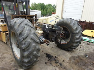 Deutz Dx160 Front Differential Mfwd Axle Complete W Tires Tractor Dx 160