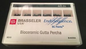 1 Pack Of Brasseler Endosequence Bc Points Bioceramic Gutta Percha 40 04 Taper