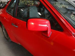 Oem Porsche 944 Passenger Right Door Mirror 1983 1991 Red Power