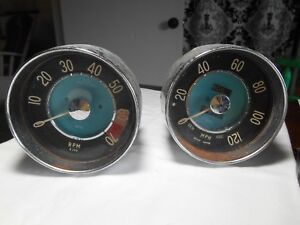Vintage Smiths Speedometer And Tachometer