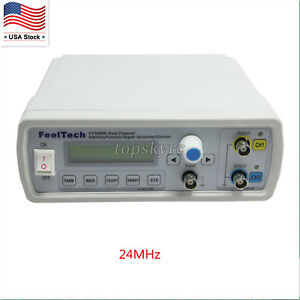Fy3200s 24mhz Lcd Dds Signal Generator Arbitrary Waveform Frequency Meter Us