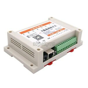 8 In 8 Out Network Relay Controller Web Tcp Udp F Offline Timer Android App P2p
