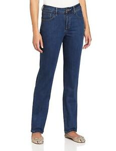 Lee Womens Petite size Classic Fit Seattle Straight Stretch Jeans NWT 340363