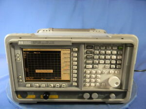 Agilent E4411b Spectrum Analyzer With Options Obo A4h 30 Day Warranty