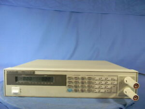Agilent 6060b Dc Electronic Load W option 020 30 Day Warranty