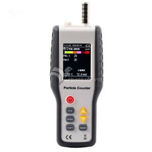 Pm2 5 Detector Ht 9600 Laser Dust Humidity Meter Air Analyzer Particle Monitor