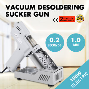 S 993a 110v 90w Electric Vacuum Desoldering Pump Solder Sucker Gun Us Stock