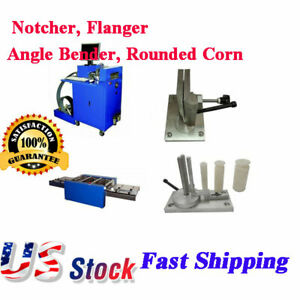 Usa Stock Ving Metal Channel Letter Making Solution Starter Notcher Flanger