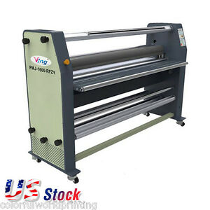 Usa Stock Ving 63 Full Auto Wide Format Hot Laminator High End Laminating