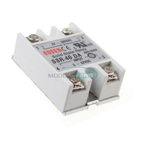 1 2 4 5 10pcs 24v 380v 40a Ssr 40da 3 32v Dc ac Solid State Relay For Arduino