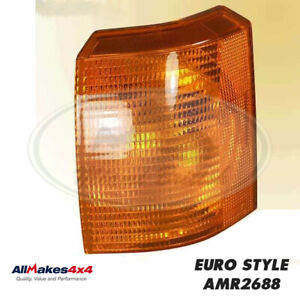 Land Rover Front Turn Signal Amber Light Lamp Lh Range P38 Amr2688 Allm4x4