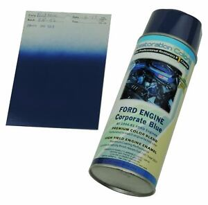 1966 81 Corporate Ford Blue High Temp Engine Enamel Spray Paint 1 Can