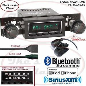 Retrosound Long Beach Cb Radio Bluetooth Ipod Usb 3 5mm Aux In 216 33 Gm Cars