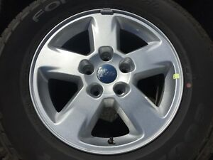 4 Genuine Jeep Grand Cherokee Wheels Rims Tires Rims 2011 2013 17 Inch