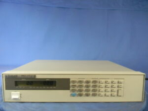 Agilent 6063b Dc Electronic Load 30 Day Warranty
