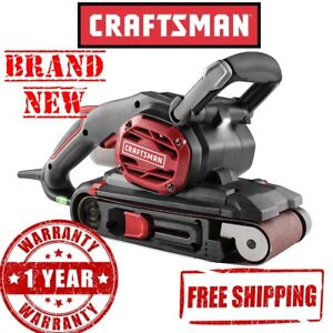New CRAFTSMAN 7A (Amp) 3X21 Inches BELT SANDER Tool Power Variable Speed Corded