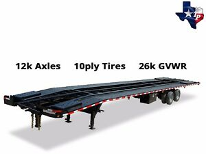 Brand New Texas Pride 8 5 X 51 3 Car Hauler Trailer 26k Gvwr