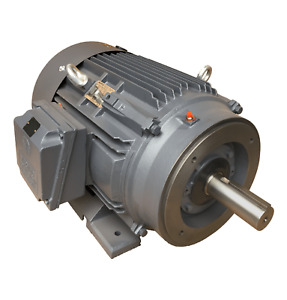 10 Hp Electric Motor 215tc 3600 Rpm 3 Phase Premium Efficient Cast Iron